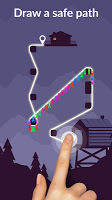 Screenshot 2: Zipline Valley - Physics Puzzle Game