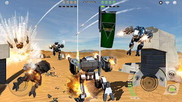 Screenshot 4: Mech Battle - Robots War Game
