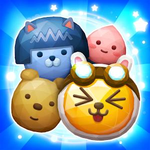 Icon: Friends Gem Treasure Squad! : Match 3 Free Puzzle