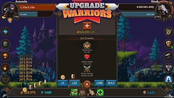 Screenshot 4: Clicker Warriors - Idle RPG