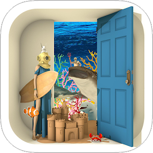 Icon: Escape Game: Marine Blue