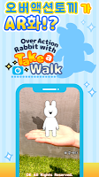 Screenshot 1: Over action rabbit with take a walk