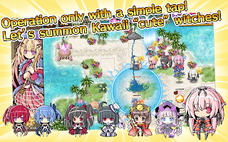Screenshot 3: ディフェンスウィッチーズ【魔法少女タワーディフェンスゲーム】