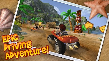 Screenshot 1: Beach Buggy Blitz