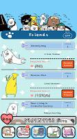 Screenshot 4: パンダと犬 どこでも犬かわいーぬ