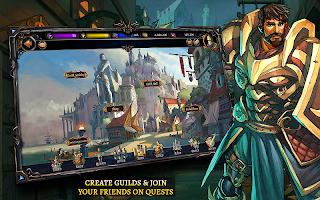 Screenshot 2: Dawn of the Dragons: Ascension - Turn based RPG
