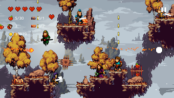 Screenshot 4: Apple Knight: Action Platformer