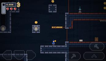Screenshot 1: BitcoinMiner - Platformer Game