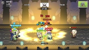Screenshot 3: 最強少女偶然結成隊伍!