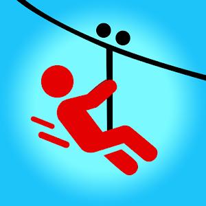 Icon: Zipline Valley - 물리학 퍼즐 게임