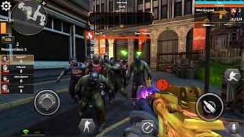 Screenshot 4: 虛幻戰場 - 生化城市FPS射擊遊戲