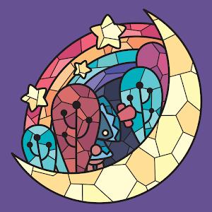 Icon: Coloring Luna