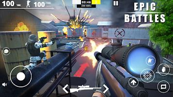 Screenshot 1: Strike Force - Online FPS