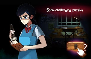 Screenshot 1: 연극 14 -  공포 퍼즐 룸 탈출 원본 이야기 게임