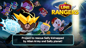 Screenshot 1: LINE Rangers