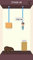Screenshot 1: Rescue Cut - 謎解き 脱出ゲーム
