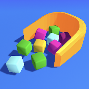 Icon: Collect Cubes
