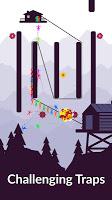 Screenshot 4: Zipline Valley - Physics Puzzle Game