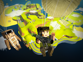 Screenshot 2: Blocky Army Battle Royale - Toon Multiplayer Game