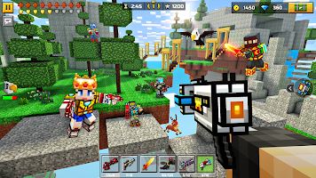 Screenshot 2: Pixel Gun 3D: FPS Shooter & Battle Royale