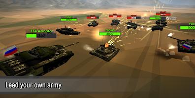 Screenshot 3: Poly Tank 2: Battle Sandbox