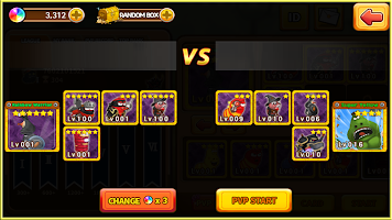Screenshot 3: Larva Heroes2: Battle PVP