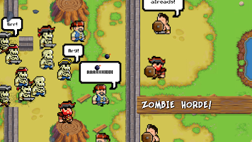 Screenshot 3: Zombies VS Pirates - Clash in the Caribbean