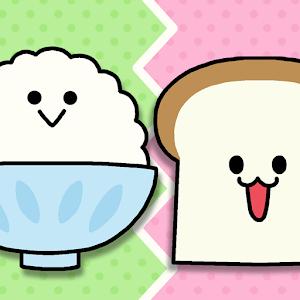 Icon: Breakfast Showdown!  Rice vs Bread