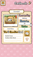 Screenshot 3: Neko Atsume: Kitty Collector