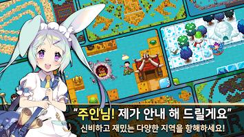 Screenshot 2: 엔젤피쉬: 낚시소녀 RPG