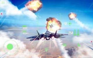 Screenshot 1: 現代戰機