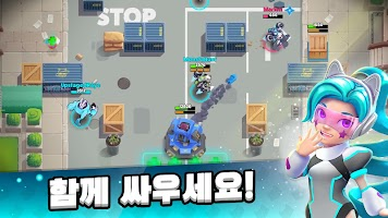 Screenshot 2: 스타더스트 배틀 : 엘리트 3v3 MOBA 전투 배틀