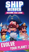 Screenshot 1: Ship Merger - Idle Tycoon Game