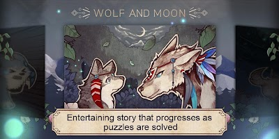 Screenshot 1: Wolf And Moon : Sudoku