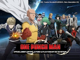Screenshot 1: One-Punch Man: Road to Hero