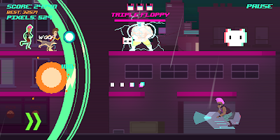 Screenshot 1: Top Run: Retro Pixel Adventure