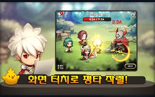 Screenshot 1: 평타의 신:인디어벤져스