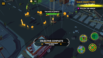 Screenshot 1: Zombie Blast Crew