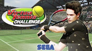 Screenshot 1: Virtua Tennis Challenge