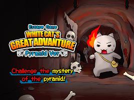 Screenshot 1: WhiteCat's adventure~Pyramid~