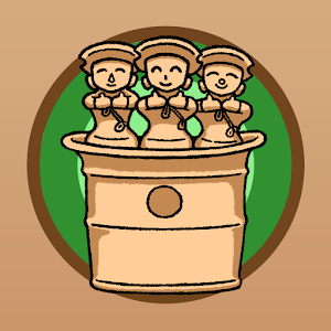Icon: HANI-アプリ~埴輪を育ててオリジナル古墳をつくろう~