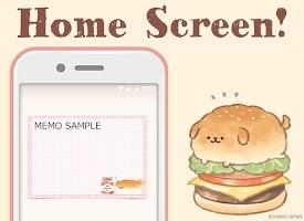 Screenshot 1: 麵包胖胖犬 記事本小工具