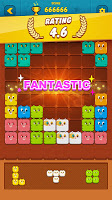 Screenshot 2: Block Crush™ - Cute Kitty Puzzle Game