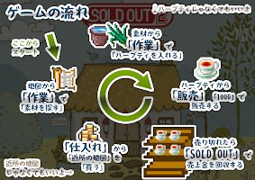 Screenshot 2: お店経営オンライン SOLD OUT 2