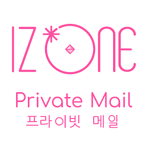Icon: IZ*ONE Private Mail