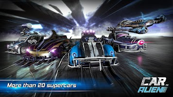 Screenshot 4: Car Alien - 3vs3 Battle