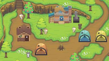 Screenshot 1: 貓咪森林:治癒露營