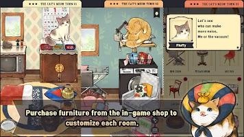 Screenshot 2: The cat's meow town