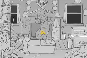 Screenshot 3: Whack the Thieves