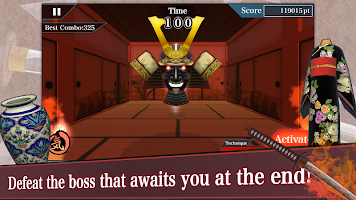 Screenshot 4: Samurai Sword